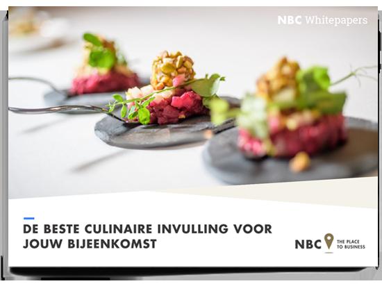 Download de whitepaper voor culinaire invulling op jouw bijeenkomst