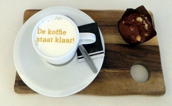Koffie bedrukken op je event