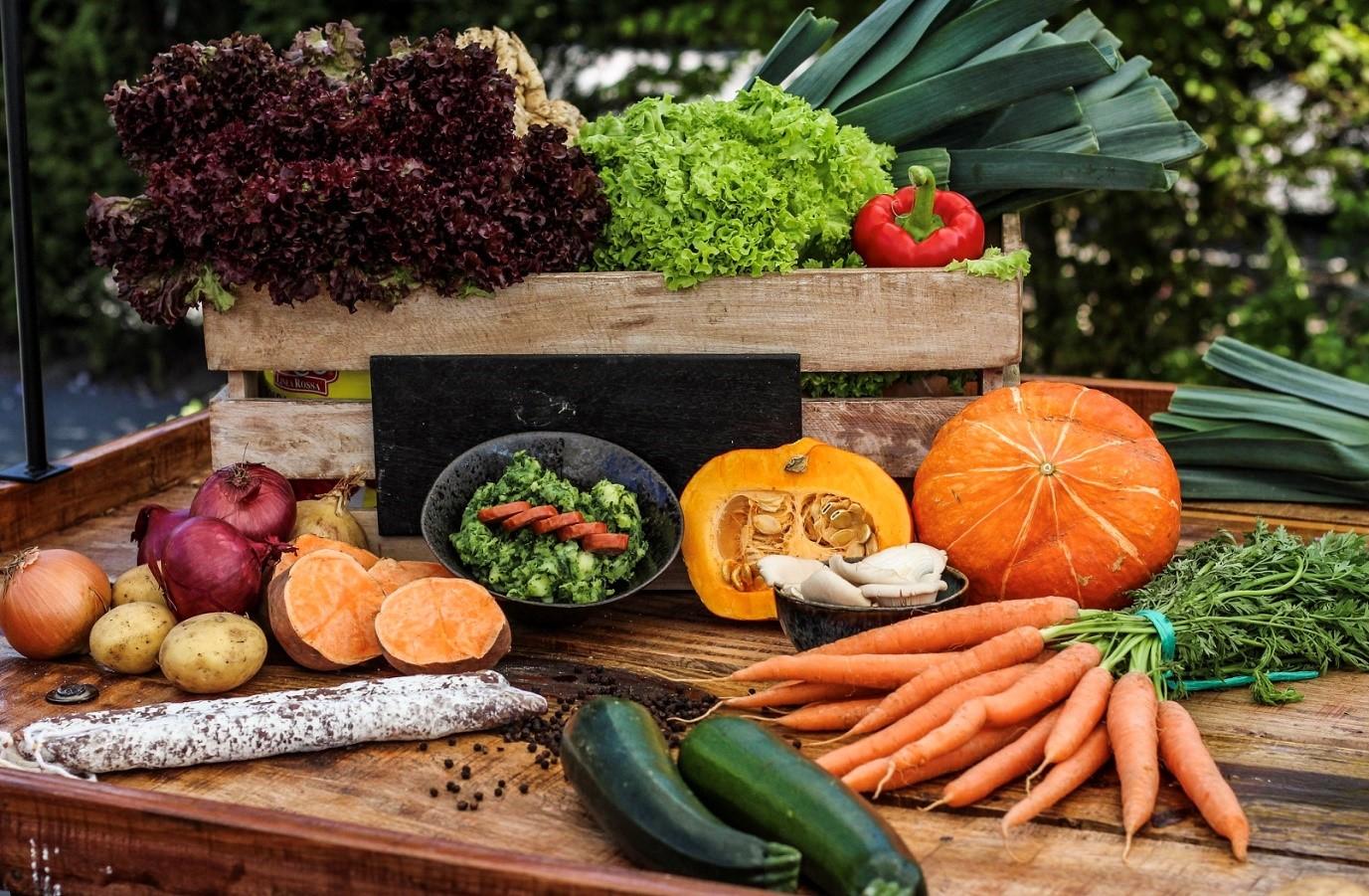 Bewust eten: seizoensgebonden producten