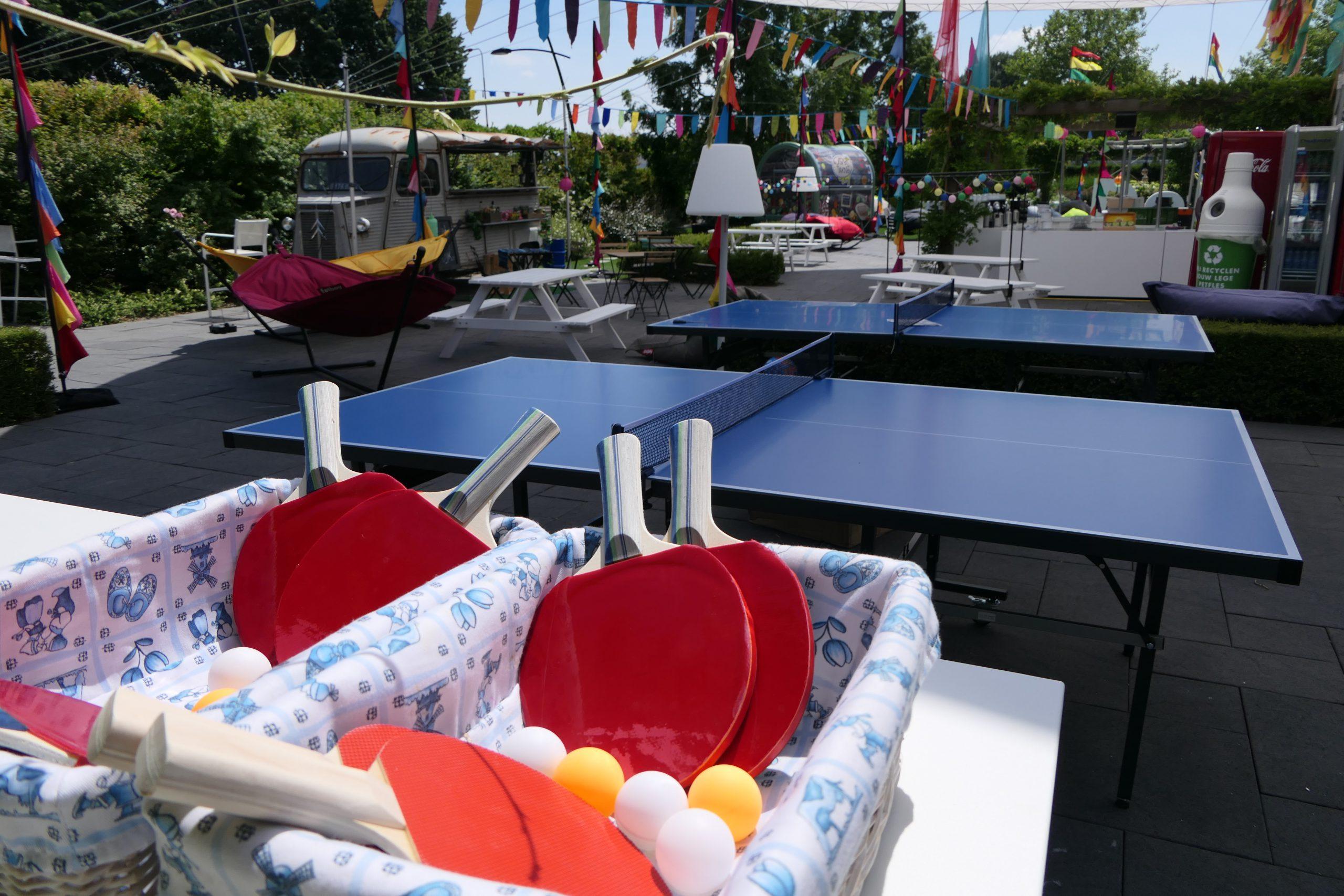 Van pingpongtafels tot een foodtruck tijdens de lunch: organiseer bij het NBC jouw zomerse bijeenkomst.