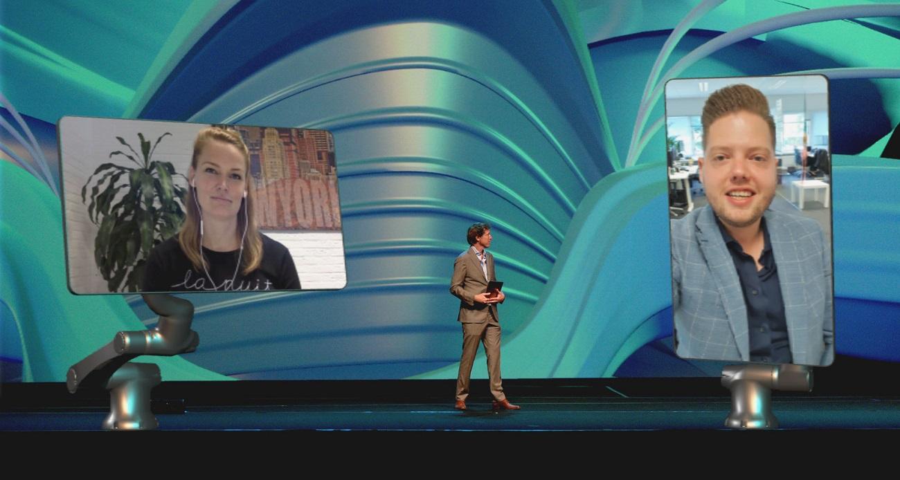 Het NBC presenteert Virtual Live
