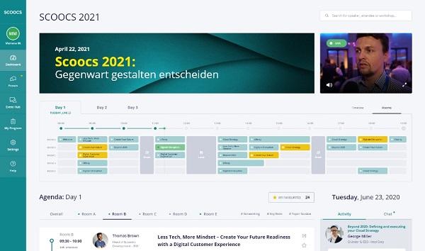 SCOOCS event platform