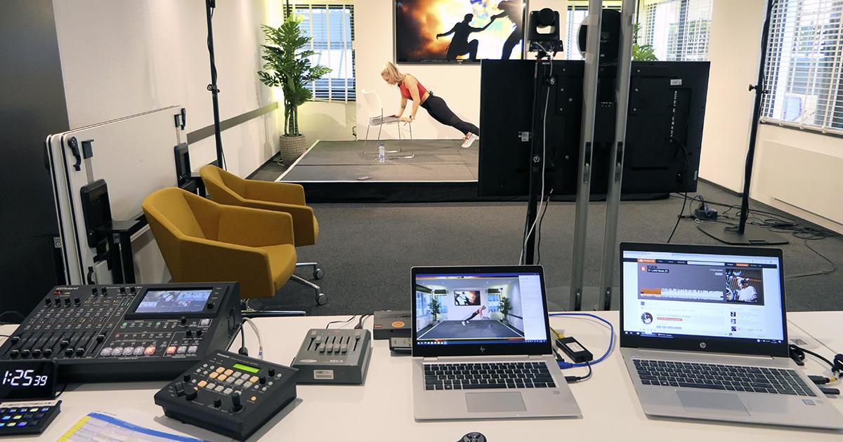 Energizer sportsessie online studio